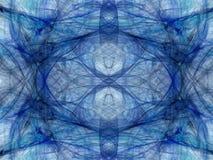 αφηρημένη ανασκόπηση Ψηφιακό κολάζ με fractals Στοκ Εικόνα