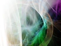 αφηρημένη ανασκόπηση Ψηφιακό κολάζ με fractals Στοκ Φωτογραφίες