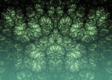 αφηρημένη ανασκόπηση Ψηφιακό κολάζ με fractals Στοκ εικόνα με δικαίωμα ελεύθερης χρήσης