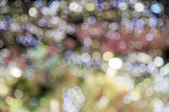Αφηρημένη ανασκόπηση bokeh Φως Bokeh στο κόμμα Στοκ φωτογραφία με δικαίωμα ελεύθερης χρήσης