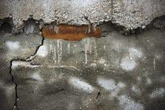 αφηρημένη ανασκόπηση brickwall που πελεκιέται Στοκ Εικόνες