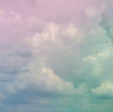 αφηρημένη ανασκόπηση cloudscape στοκ εικόνα