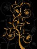 αφηρημένη ανασκόπηση floral Στοκ Εικόνες