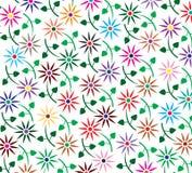 αφηρημένη ανασκόπηση floral Στοκ Φωτογραφία