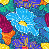 αφηρημένη ανασκόπηση floral ελεύθερη απεικόνιση δικαιώματος