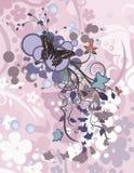 αφηρημένη ανασκόπηση floral Στοκ φωτογραφίες με δικαίωμα ελεύθερης χρήσης