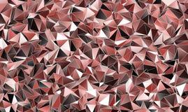 αφηρημένη ανασκόπηση Polygonal σύσταση διανυσματική απεικόνιση