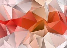 αφηρημένη ανασκόπηση Triangulated σύσταση διανυσματική απεικόνιση