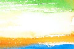 Αφηρημένη ανασκόπηση watercolor Στοκ εικόνα με δικαίωμα ελεύθερης χρήσης