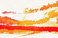 Αφηρημένη ανασκόπηση watercolor Στοκ Εικόνα
