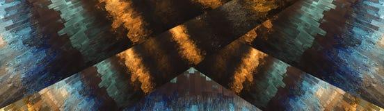 αφηρημένη απεικόνιση ανασκόπησης Στοκ Εικόνες