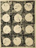 Αφηρημένη απεικόνιση ξυλογραφιών Στοκ Εικόνα