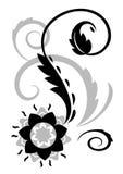 Αφηρημένη απεικόνιση λουλουδιών φαντασίας απεικόνιση αποθεμάτων