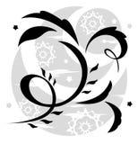 Αφηρημένη απεικόνιση 12 λουλουδιών φαντασίας απεικόνιση αποθεμάτων