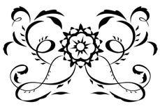 Αφηρημένη απεικόνιση 5 λουλουδιών φαντασίας απεικόνιση αποθεμάτων