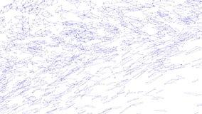 Αφηρημένη απλή βιολέτα που κυματίζει το τρισδιάστατο πλέγμα ή το πλέγμα ως διαστημικό σκηνικό Ιώδες γεωμετρικό δομένος περιβάλλον διανυσματική απεικόνιση