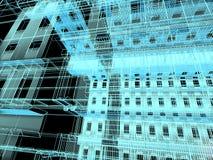 αφηρημένη αρχιτεκτονική σύ&ga απεικόνιση αποθεμάτων