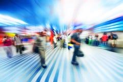 αφηρημένη βιασύνη αερολιμέ&n στοκ εικόνες με δικαίωμα ελεύθερης χρήσης