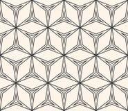 Αφηρημένη γεωμετρική διακόσμηση, λεπτές γραμμές, τριγωνικές μορφές Στοκ Εικόνες