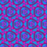 Αφηρημένη γεωμετρική διακόσμηση καλειδοσκόπιων Στοκ Εικόνες
