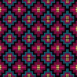 Αφηρημένη γεωμετρική χρωματισμένη υπόβαθρο διανυσματική απεικόνιση πολυγώνων Στοκ εικόνες με δικαίωμα ελεύθερης χρήσης