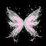 αφηρημένη γοητεία πεταλού& διανυσματική απεικόνιση