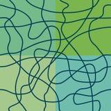Αφηρημένη γραμμή στο πράσινο υπόβαθρο άνευ ραφής σύσταση Ελεύθερη απεικόνιση δικαιώματος