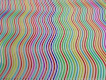 Αφηρημένη γραμμή υποβάθρου μολυβιού κραγιονιών χρώματος Στοκ φωτογραφία με δικαίωμα ελεύθερης χρήσης