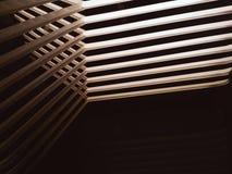 Αφηρημένη γραμμή φωτός σκιών και αντανάκλασης καθρεφτών Στοκ εικόνα με δικαίωμα ελεύθερης χρήσης