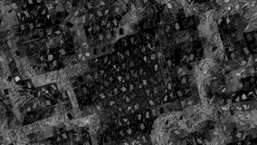Αφηρημένη γραπτή χαμηλή πολυ τρισδιάστατη επιφάνεια κυματισμού ως απλό υπόβαθρο Γκρίζο αφηρημένο γεωμετρικό δομένος περιβάλλον ελεύθερη απεικόνιση δικαιώματος