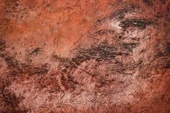 Αφηρημένη γρατσουνισμένη τερακότα επιφάνεια στοκ φωτογραφίες με δικαίωμα ελεύθερης χρήσης