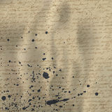 Αφηρημένη γραφή σε παλαιό χαρτί απεικόνιση αποθεμάτων