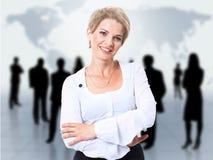 αφηρημένη γυναίκα ομάδων Στοκ εικόνες με δικαίωμα ελεύθερης χρήσης