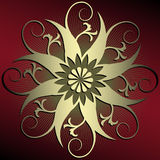 αφηρημένη διακόσμηση floral απεικόνιση αποθεμάτων
