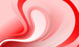 Αφηρημένη διανυσματική κόκκινη και άσπρη σκιασμένη ταπετσαρία υποβάθρου ομαλός, καμπύλη επίσης corel σύρετε το διάνυσμα απεικόνισ απεικόνιση αποθεμάτων