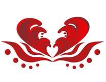 αφηρημένη εικόνα καρδιών Στοκ φωτογραφία με δικαίωμα ελεύθερης χρήσης