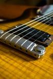 Αφηρημένη εικόνα κιθάρων Στοκ Εικόνα