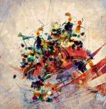 Αφηρημένη εικόνα τέχνης Στοκ Εικόνα