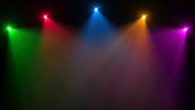 Αφηρημένη εικόνα της φλόγας φωτισμού Στοκ Εικόνα