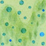 Αφηρημένη εικόνα υποβάθρου watercolor Στοκ Φωτογραφίες
