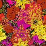 Αφηρημένη εικόνα χρωμάτων διανυσματική απεικόνιση