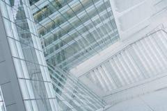 αφηρημένη επιχείρηση οικοδόμησης ανασκόπησης Στοκ Εικόνα