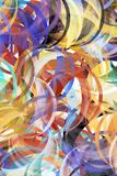 αφηρημένη ζωγραφική ανασκό&pi απεικόνιση αποθεμάτων