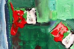 αφηρημένη ζωγραφική Στοκ εικόνα με δικαίωμα ελεύθερης χρήσης