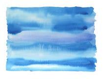 Αφηρημένη ζωγραφική Watercolor Στοκ φωτογραφίες με δικαίωμα ελεύθερης χρήσης