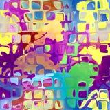 Αφηρημένη ζωηρόχρωμη άνευ ραφής σύσταση Στοκ εικόνες με δικαίωμα ελεύθερης χρήσης