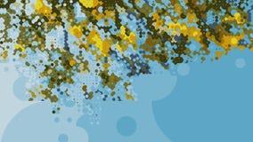 Αφηρημένη ζωηρόχρωμη γεωμετρική παραγμένη ταπετσαρία υποβάθρου Στοκ Εικόνα