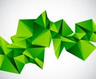 Αφηρημένη ζωηρόχρωμη γεωμετρική διανυσματική ανασκόπηση Στοκ εικόνα με δικαίωμα ελεύθερης χρήσης