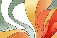 Αφηρημένη ζωηρόχρωμη λεκιασμένη μωσαϊκό τέχνη παραθύρων γυαλιού Στοκ Εικόνες