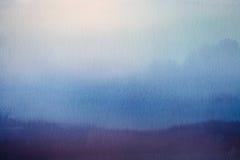 αφηρημένη θαμπάδα ανασκόπησης Επικάλυψη εγγράφου Watercolor Στοκ Εικόνες